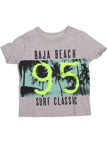 T-shirt manches courtes garçon OSH KOCH B'GOSH blanc 2 ans été #1335026_1