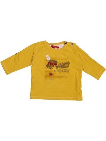 T-shirt manches longues garçon MARÈSE jaune 6 mois hiver #1335086_1