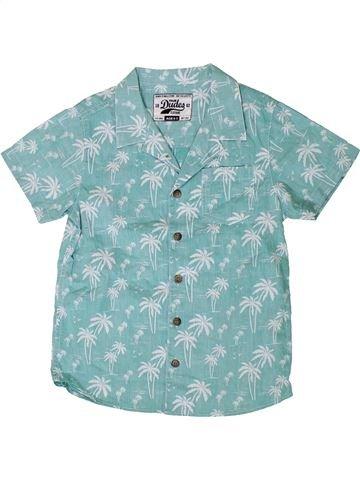 Chemise manches courtes garçon SANS MARQUE bleu 7 ans été #1335108_1