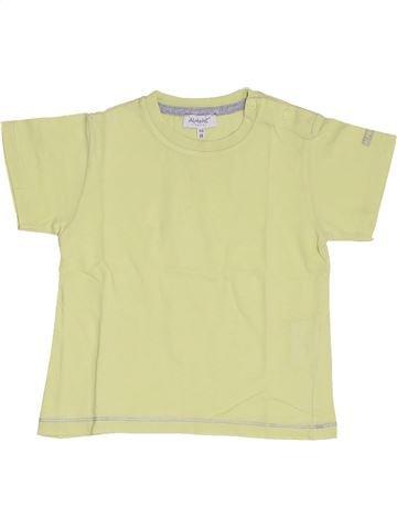 T-shirt manches courtes garçon ALPHABET vert 18 mois été #1335278_1