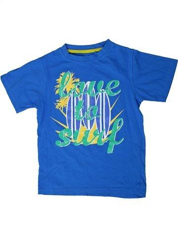 T-shirt manches courtes garçon BOYS bleu 8 ans été #1335318_1
