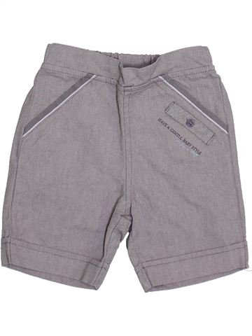 Short - Bermuda garçon LES BEBES SONT COMME ÇA gris 6 mois été #1335414_1
