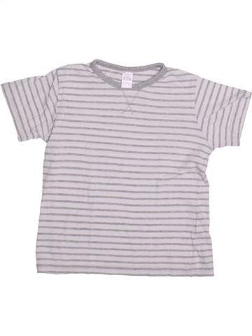 T-shirt manches courtes garçon ZARA blanc 7 ans été #1335472_1