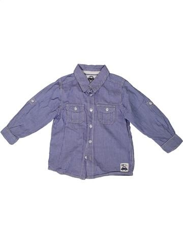 Chemise manches longues garçon TU bleu 3 ans hiver #1336023_1