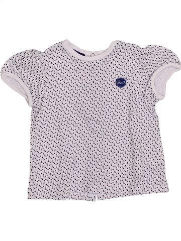 Camiseta de manga corta niña CHICCO blanco 3 meses verano #1336237_1