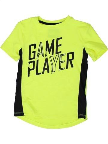 T-shirt manches courtes garçon TU vert 6 ans été #1336299_1