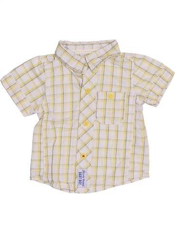 Chemise manches courtes garçon TAPE À L'OEIL blanc 6 mois été #1336798_1