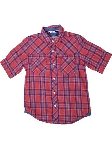 Chemise manches courtes garçon DEBENHAMS violet 10 ans été #1336948_1