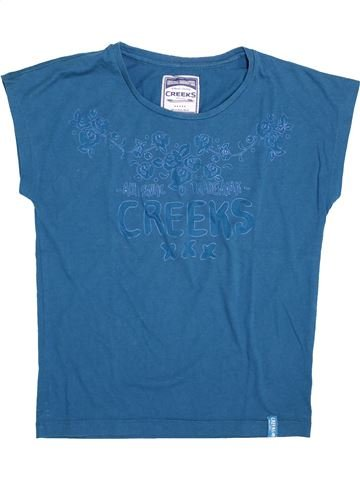 Camiseta de manga corta niña CREEKS azul 14 años verano #1337185_1
