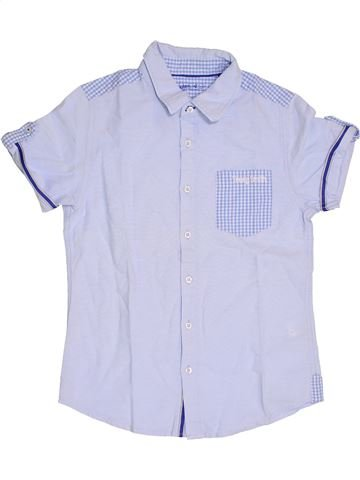 Chemise manches courtes garçon TEDDY SMITH bleu 12 ans été #1337713_1