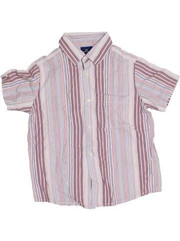 Chemise manches courtes garçon SERGENT MAJOR rose 6 ans été #1338230_1
