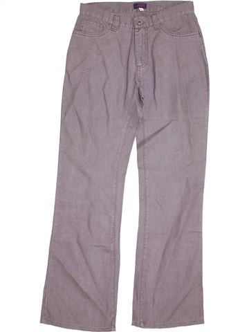Pantalon garçon ACANTHE gris 12 ans été #1338395_1