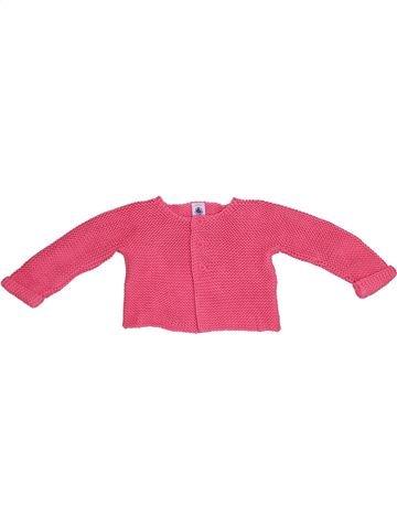 Chaleco niña PETIT BATEAU rosa 12 meses invierno #1339225_1