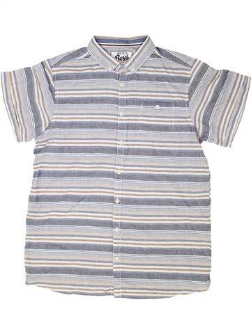 Chemise manches courtes garçon BOYS blanc 13 ans été #1339350_1