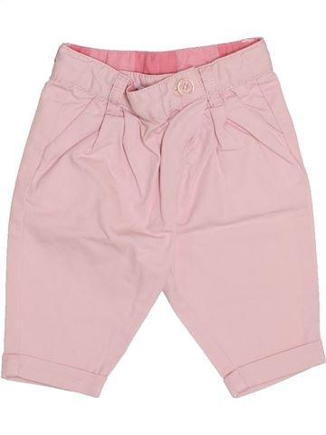 Pantalon fille TAPE À L'OEIL rose 3 mois été #1339513_1
