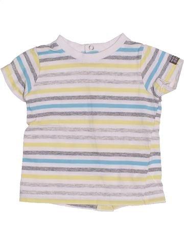 Camiseta de manga corta niño 3 POMMES blanco 3 meses verano #1340254_1
