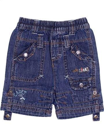 Short-Bermudas niño CADET ROUSSELLE azul 6 meses verano #1340287_1