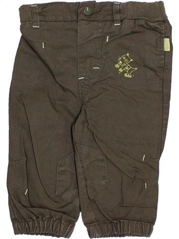 Pantalón niño TOUT COMPTE FAIT marrón 6 meses verano #1340290_1