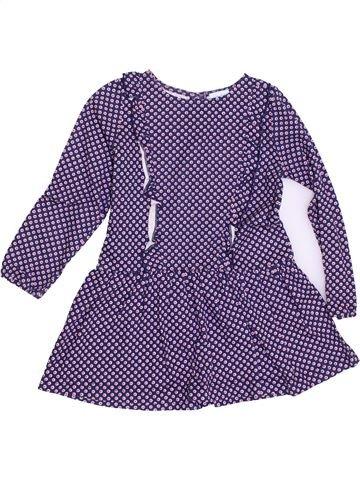 Vestido niña KIMBALOO violeta 3 años invierno #1340523_1