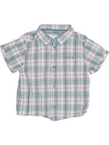 Chemise manches courtes garçon OKAIDI gris 2 ans été #1340757_1