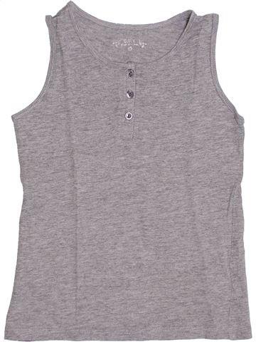 Camiseta sin mangas niña CFK gris 5 años verano #1340824_1