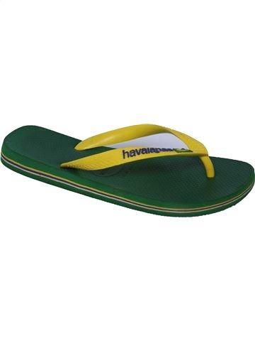 Chanclas niño HAVAIANAS verde 39 verano #1340944_1