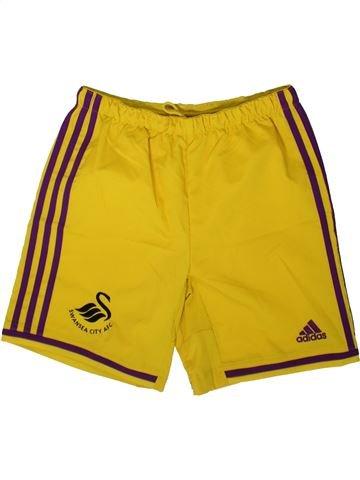 Pantalon corto deportivos niño ADIDAS amarillo 12 años verano #1341252_1