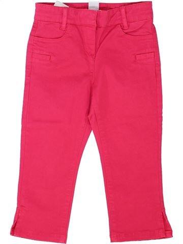 Pantalón niña CYRILLUS rosa 4 años invierno #1341920_1