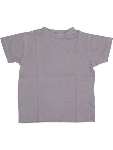 T-shirt manches courtes garçon TOUT COMPTE FAIT gris 4 ans été #1341982_1