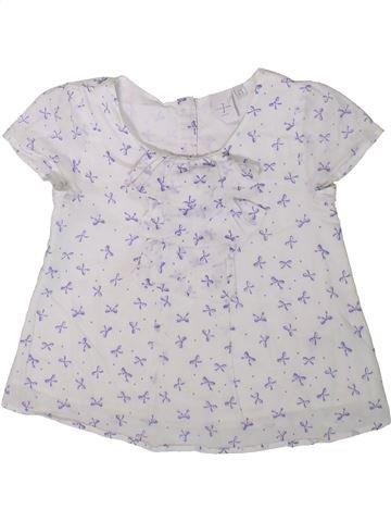 Blusa de manga corta niña JASPER CONRAN blanco 4 años verano #1342007_1