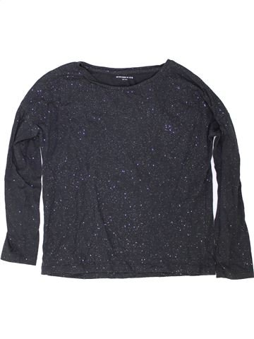 Camiseta de manga larga niña MONOPRIX azul 10 años invierno #1342197_1