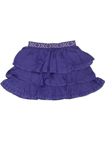 Jupe fille LISA ROSE violet 4 ans été #1342764_1