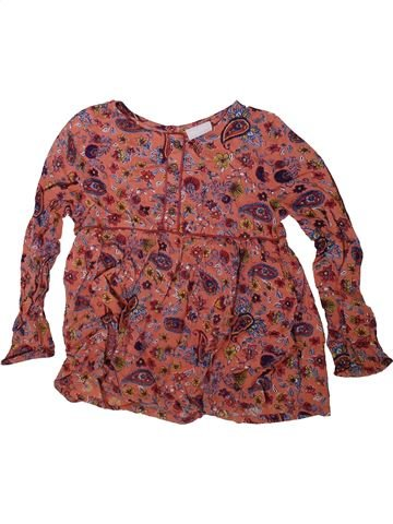 Blouse manches longues fille I LOVE GIRLSWEAR marron 9 ans hiver #1342883_1