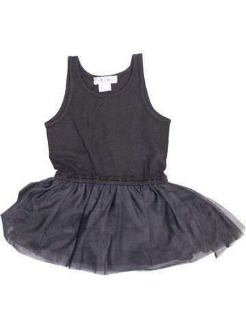 Vestido niña LA REDOUTE CRÉATION gris 3 años verano #1343496_1