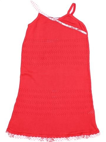 Robe fille CLAYEUX rouge 8 ans hiver #1343672_1