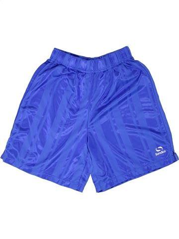 Short de sport garçon SONDICO bleu 12 ans été #1343748_1
