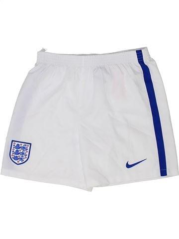Pantalon corto deportivos niño NIKE blanco 8 años verano #1343784_1