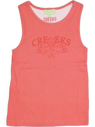 Camiseta sin mangas niña CREEKS rosa 6 años verano #1344052_1
