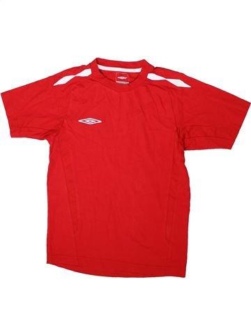 T-shirt manches courtes garçon UMBRO rouge 12 ans été #1344434_1