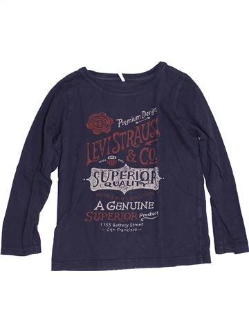 T-shirt manches longues garçon LEVI'S bleu 6 ans hiver #1344479_1