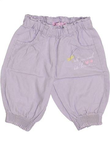 Pantalón corto niña GEMO violeta 2 años verano #1344600_1