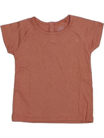 Camiseta de manga corta unisex CFK marrón 3 años verano #1344644_1