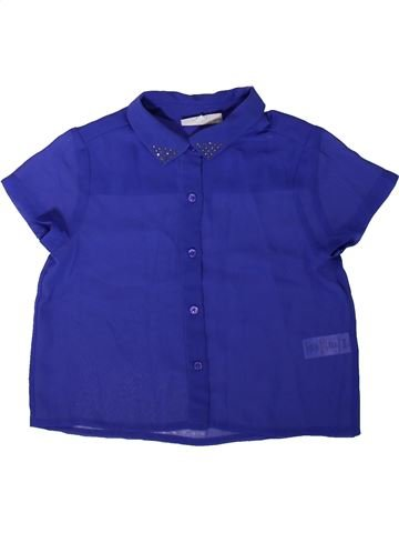 Blouse manches courtes fille TAMMY GIRL bleu 9 ans été #1344697_1