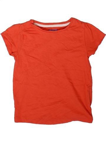 T-shirt manches courtes fille F&F rouge 2 ans été #1344957_1