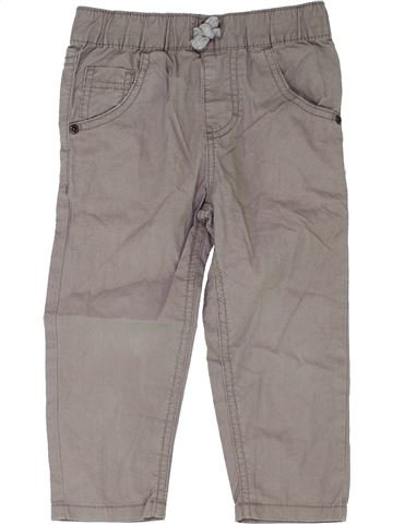 Pantalón niño DEBENHAMS gris 2 años verano #1345200_1