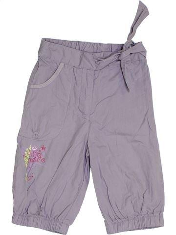 Pantalon fille ALPHABET gris 2 ans été #1345239_1
