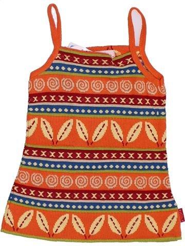 Tunique fille CLAYEUX orange 12 mois hiver #1345335_1