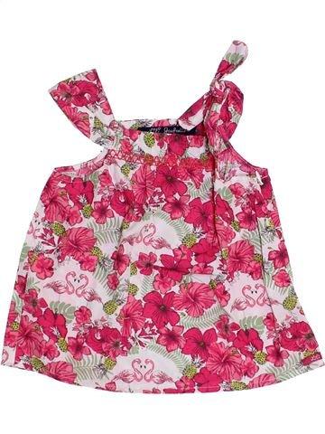 Blusa de manga corta niña LILI GAUFRETTE rosa 3 años verano #1345431_1