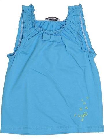 Camiseta sin mangas niña 3 POMMES azul 3 años verano #1345463_1