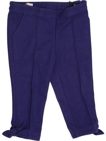 Pantalon fille LILI GAUFRETTE bleu 4 ans hiver #1345499_1